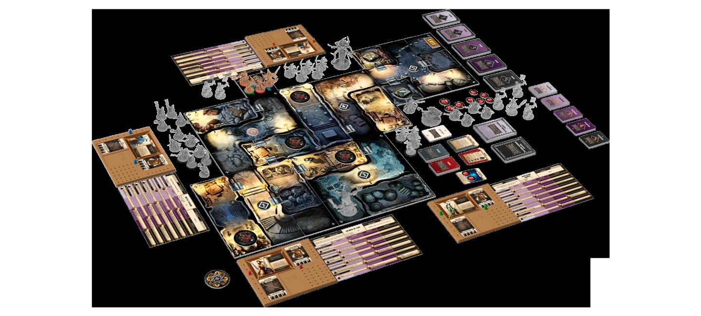Massive Darkness boardcontent image Top 50 najciekawszych gier na GenCon50   część 1.