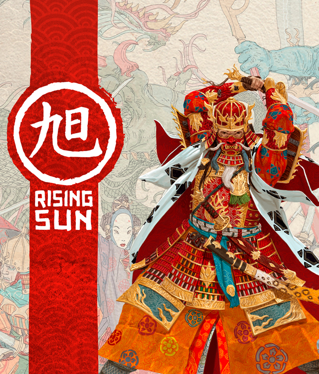 Rising Sun Kickstarter Retail Pledge