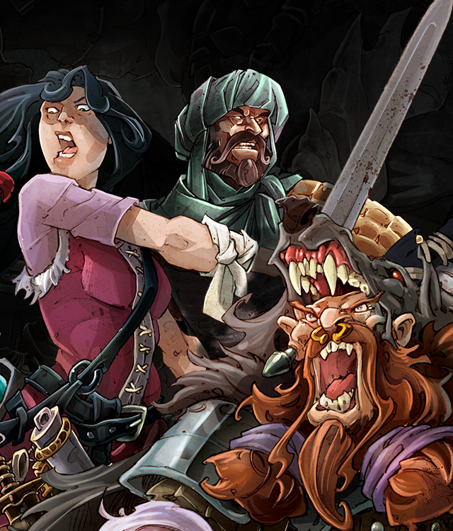 Zombicide: The Heroes of Green Horde