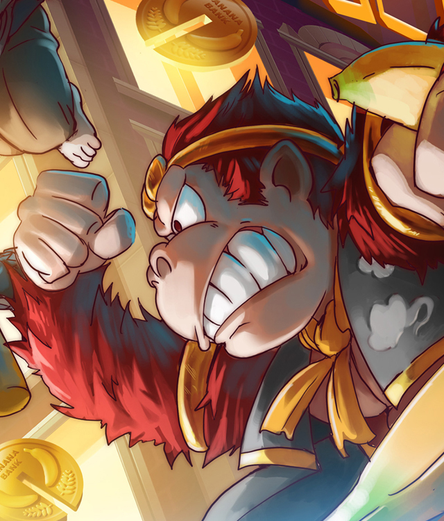 CMON Limited, Mandoo Games, & Capstone HK Ltd. Partner to Publish Banana Bandits