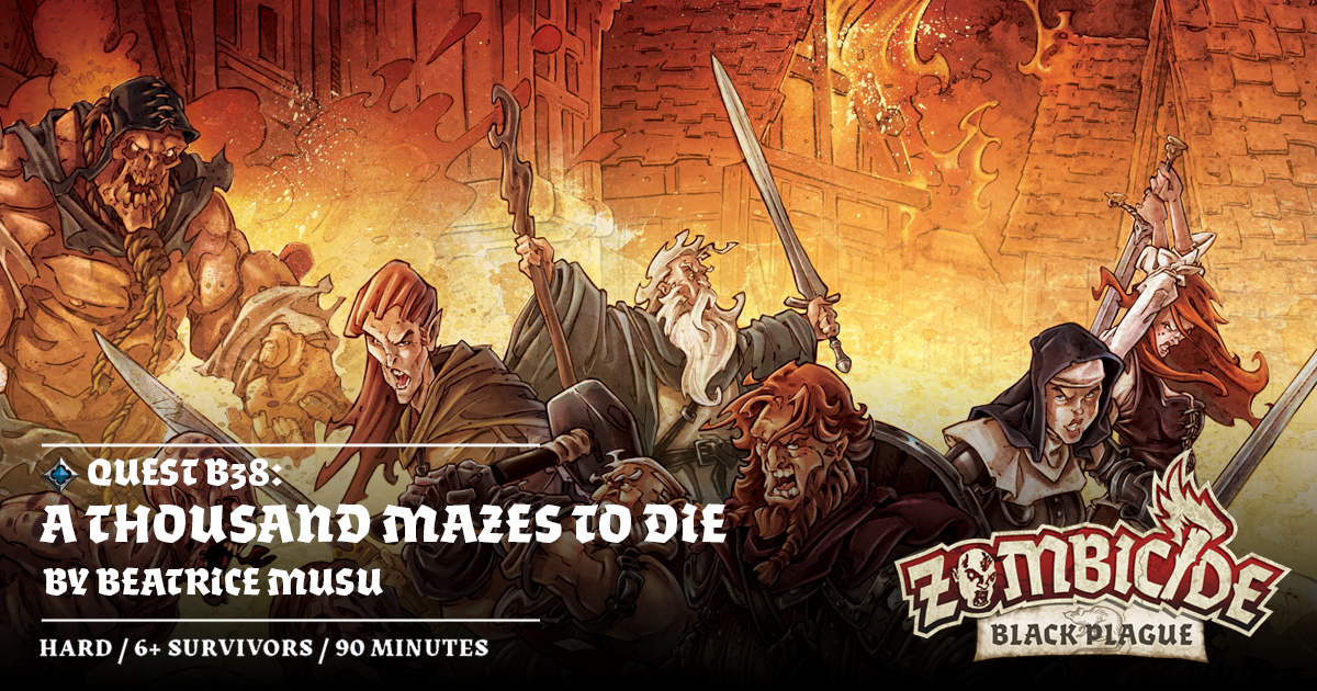 Zombicide #65: A Thousand Mazes to Die