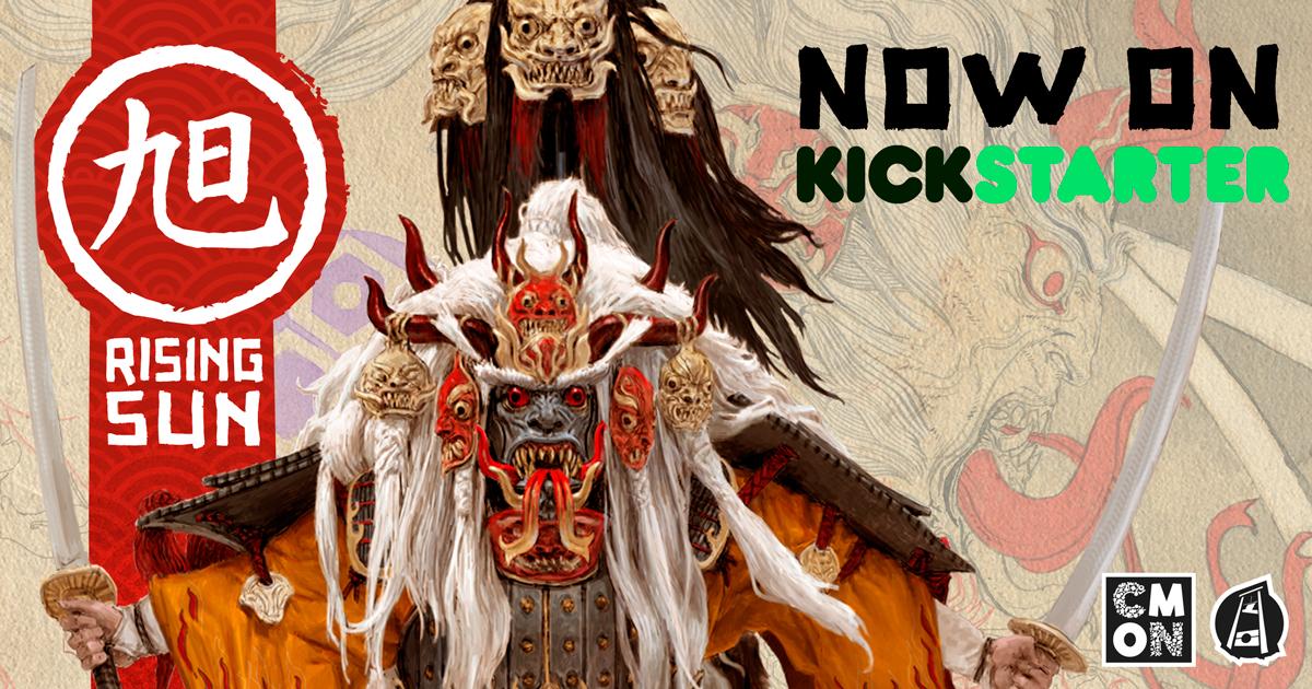 Rising Sun Now On Kickstarter