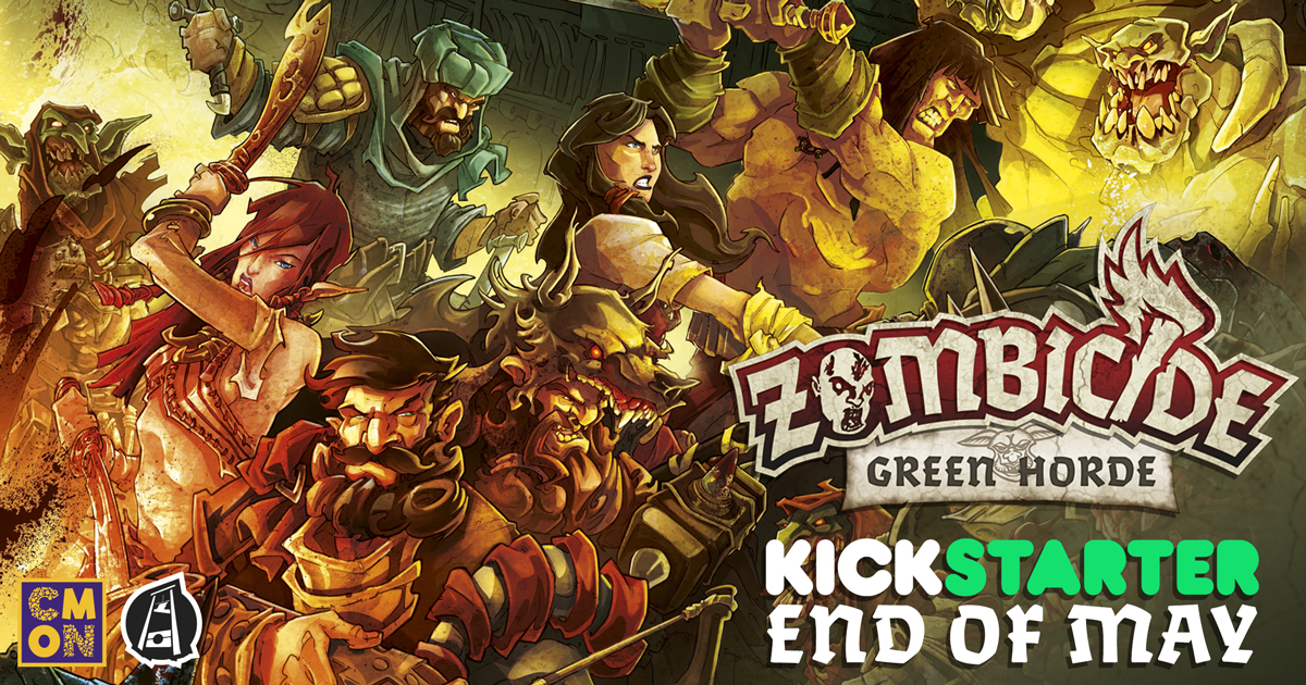 Zombicide: Green Horde is Coming!