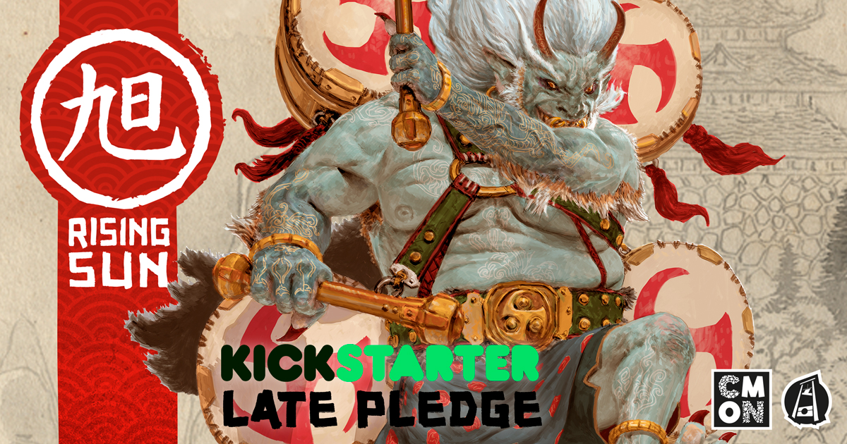 Rising Sun Late Pledges Now Available