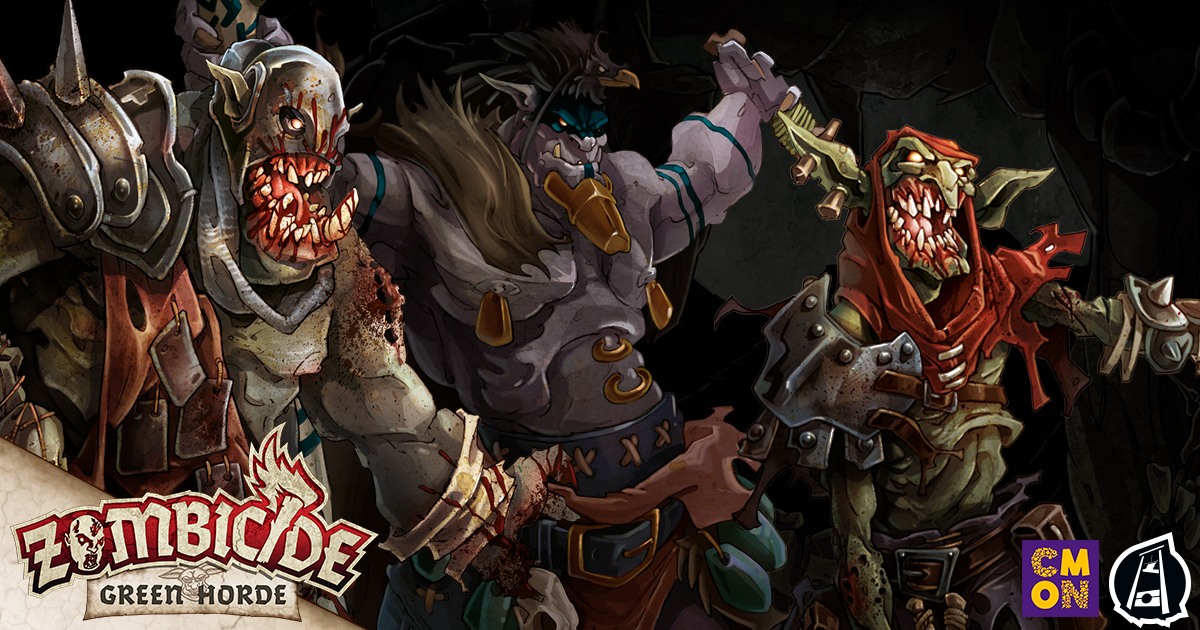 Zombicide: Green Horde: New Zombies in Olden Times