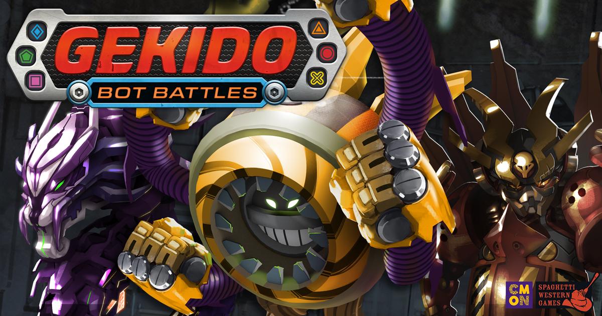 Gekido: Bot Battles: Sport of the Future