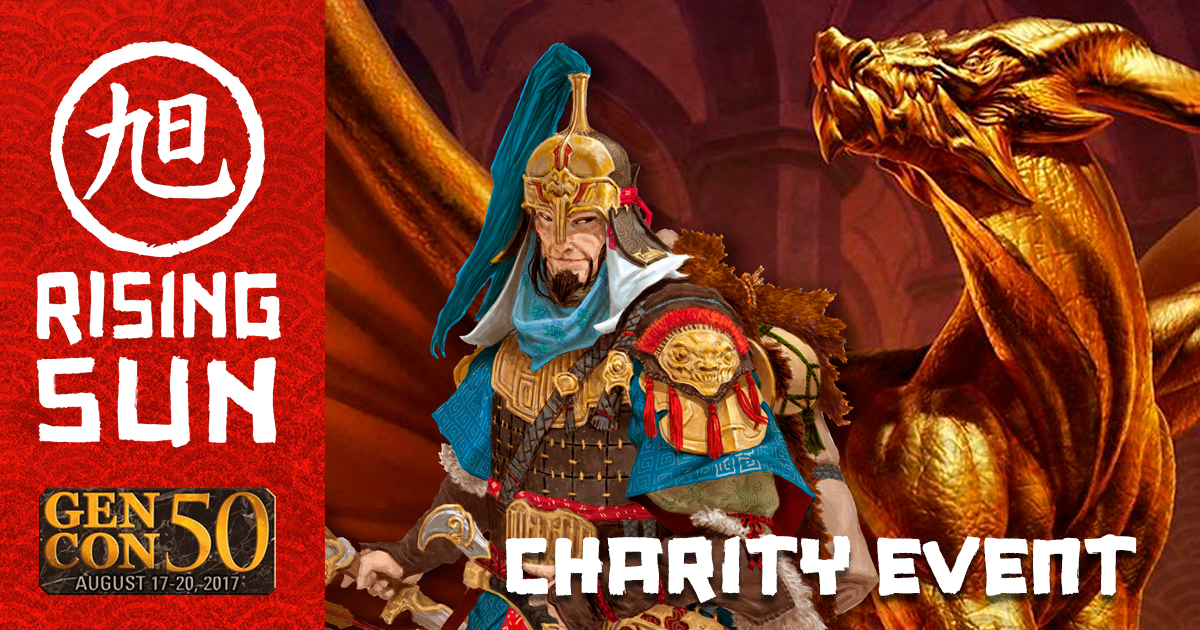 Rising Sun Charity Event at Gen Con 2017
