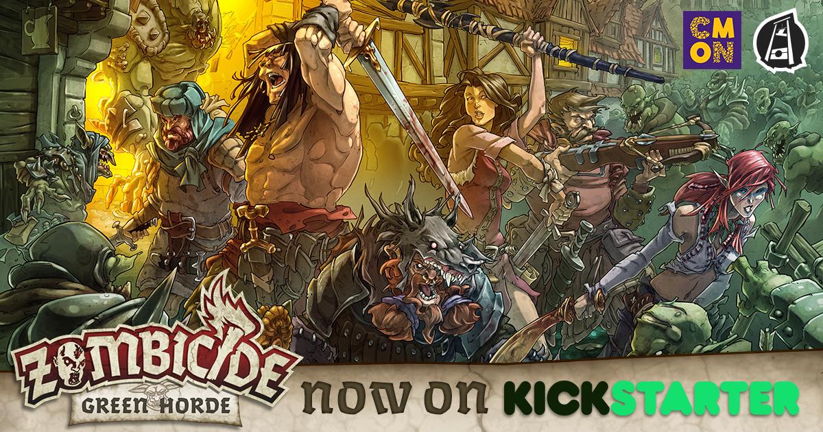 Zombicide: Green Horde Kickstarter is Live