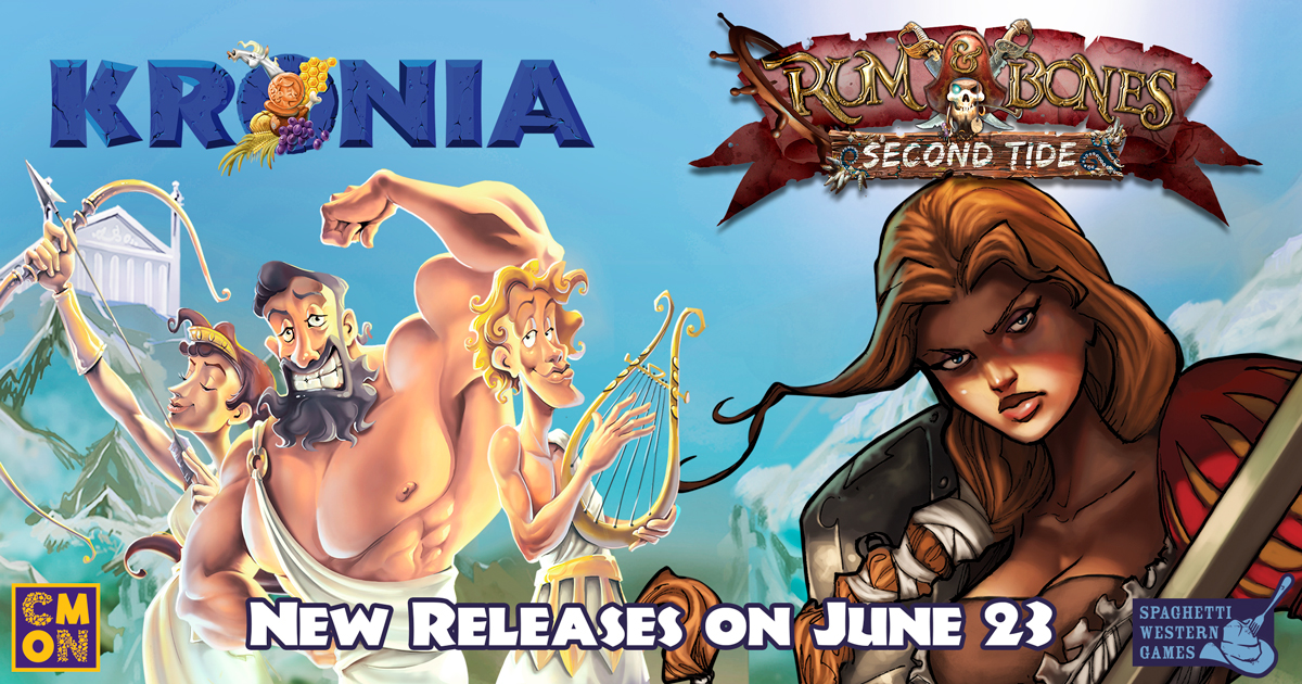 June Releases From CMON