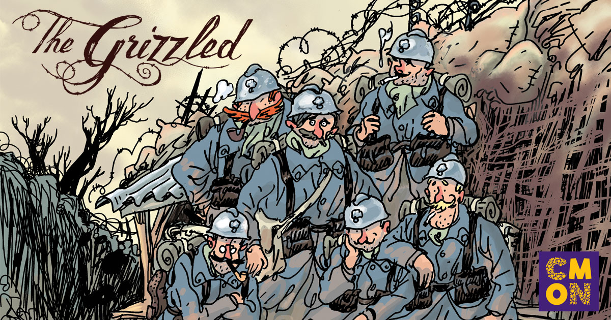 CMON Limited Acquires The Grizzled from Sweet Games