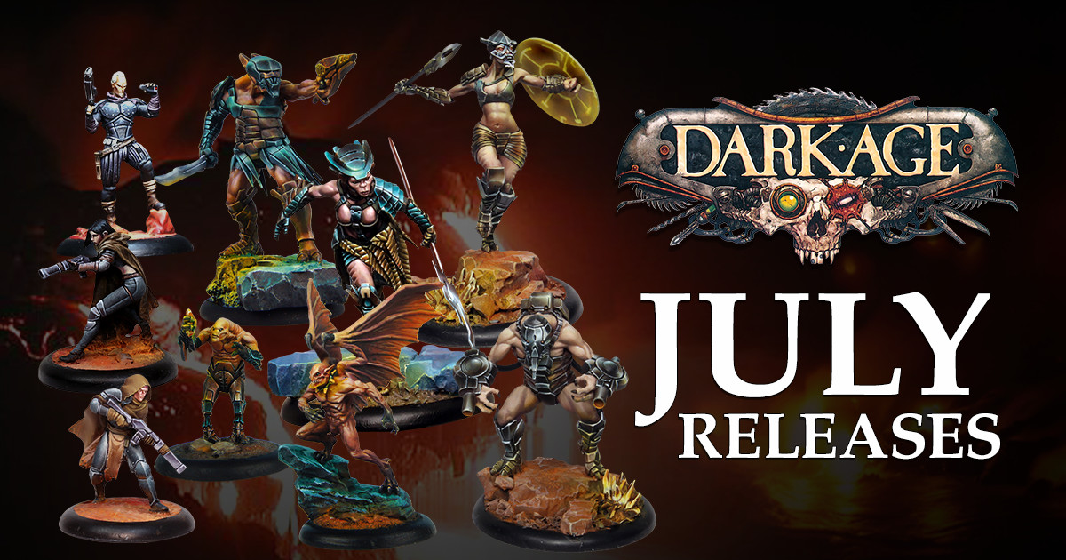 Dark Age July Releases