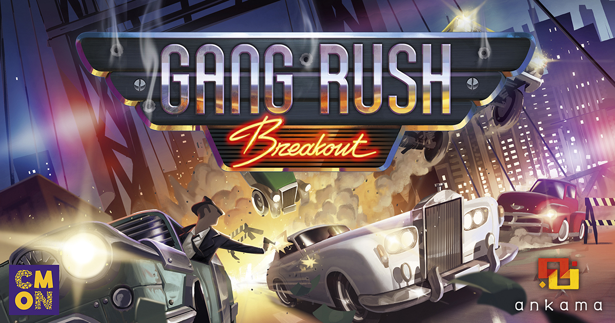 Gang Rush: Breakout - Cars, Cash, and Cops