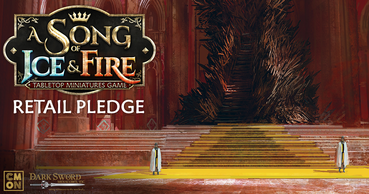 A Song of Ice and Fire: Tabletop Miniatures Game Kickstarter Retail Pledge