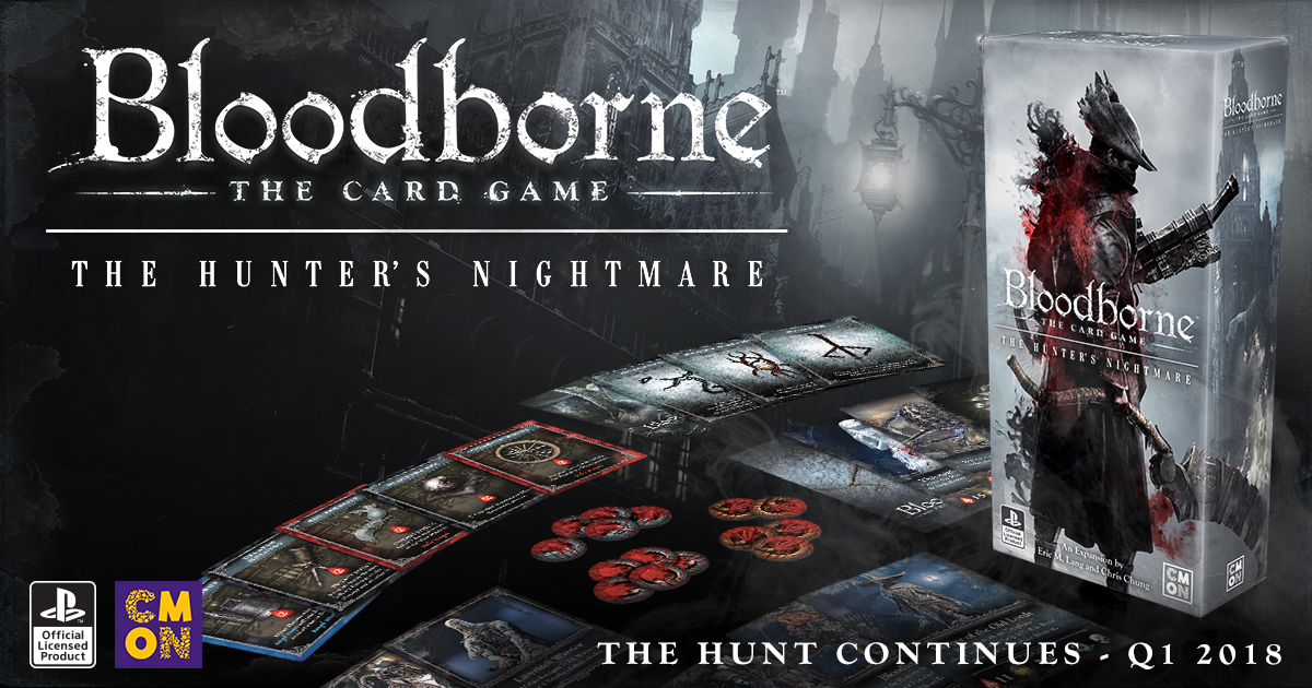 Announcing Bloodborne: The Card Game - The Hunter's Nightmare