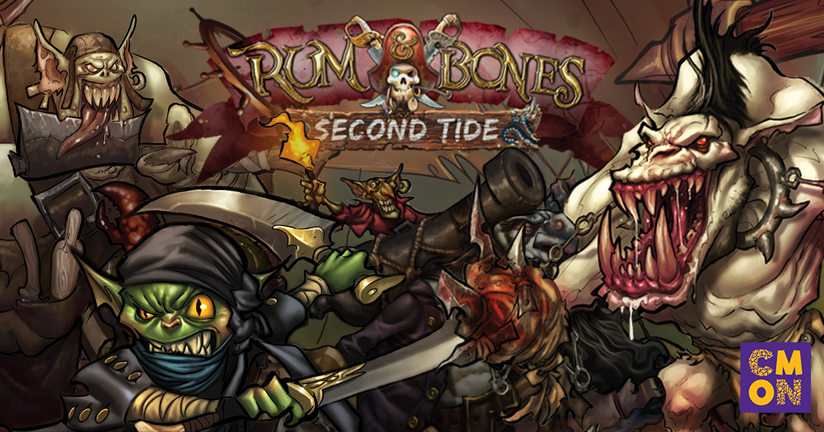 The Emerald Sea Grows Greener- New Crew for Rum and Bones: Second Tide
