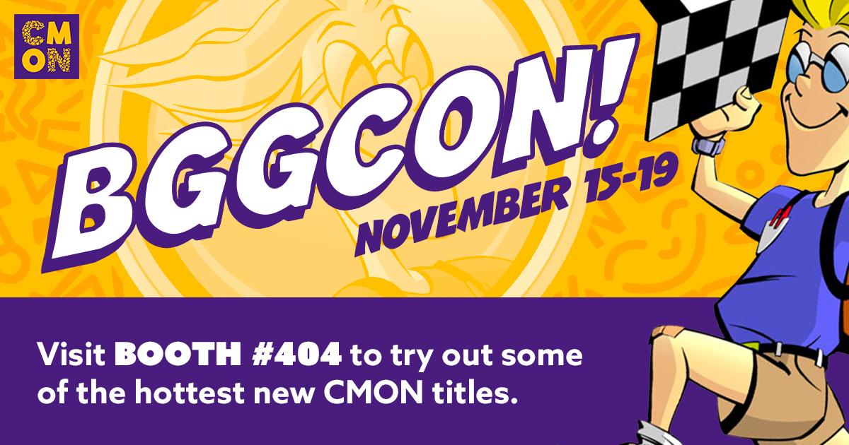 CMON at BGG Con 2017