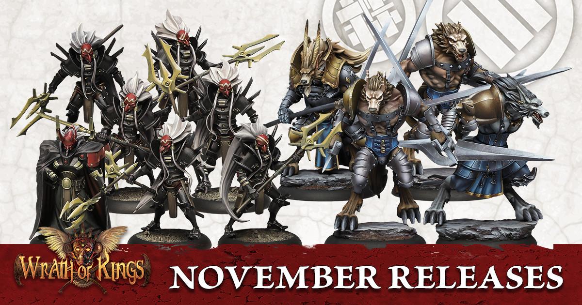 November Releases for Wrath of Kings