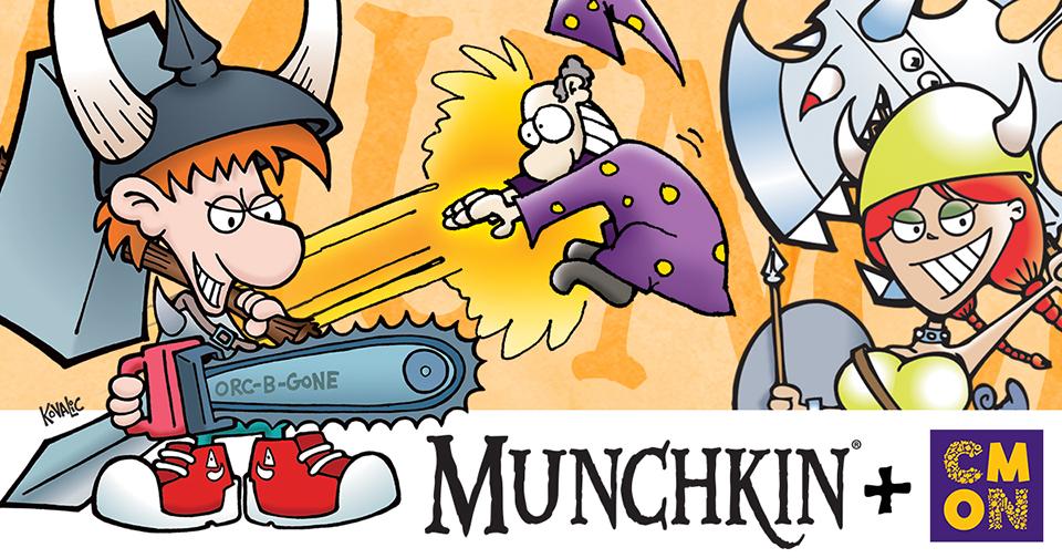CMON and Steve Jackson Games Partner for Munchkin Board Games