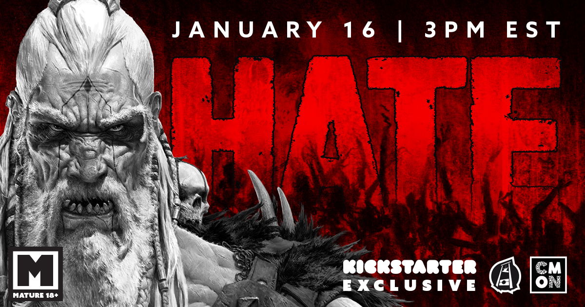 HATE  Is Coming Exclusively To Kickstarter