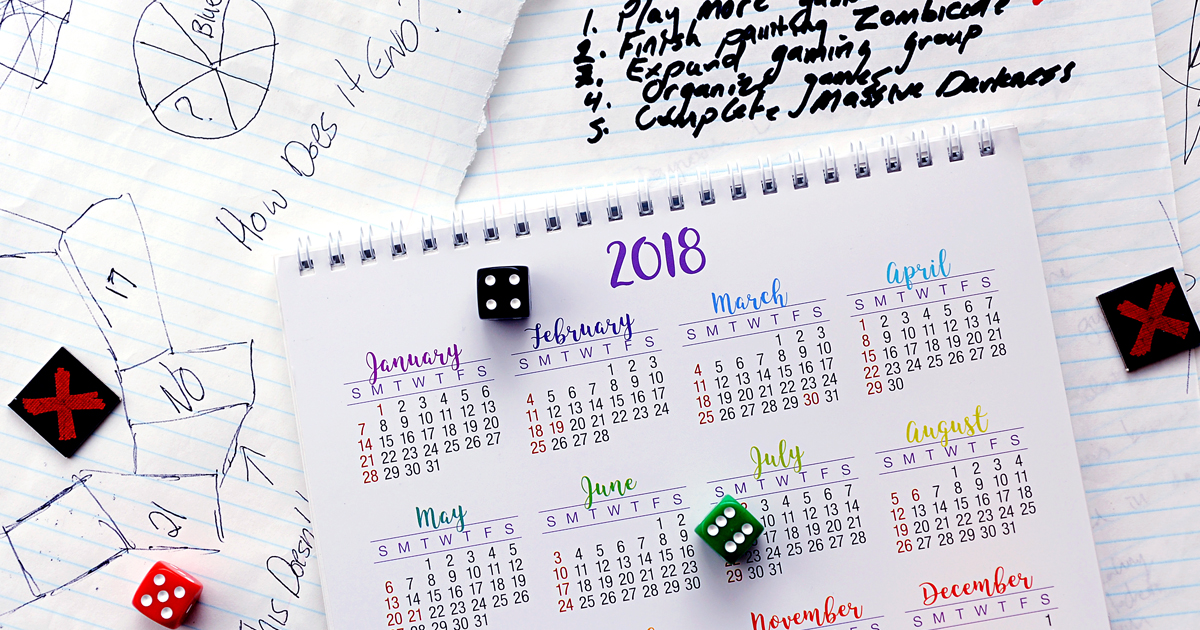 CMON Feature Friday: New Year's Resolutions
