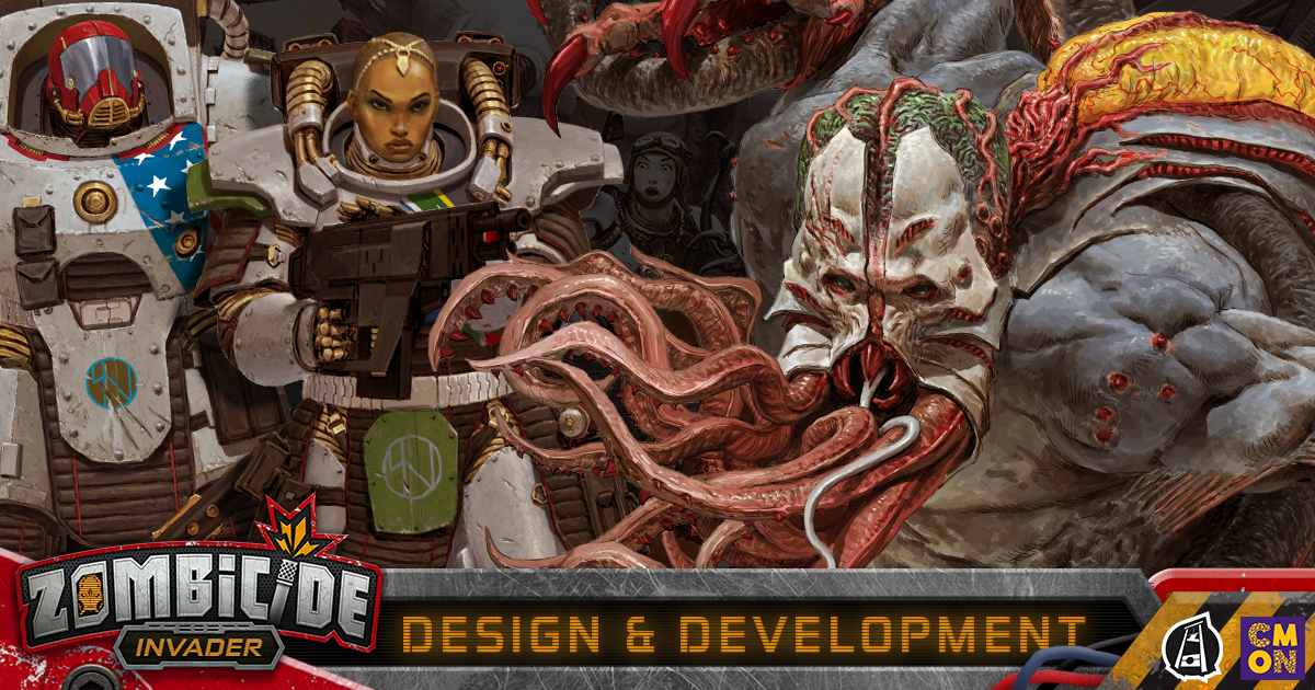 Zombicide: Invader - Design and Development