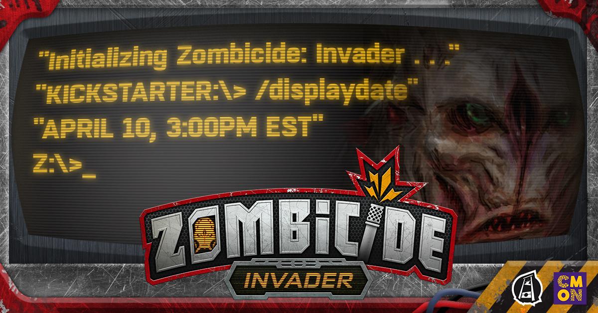 Zombicide: Invader Kickstarter Announced