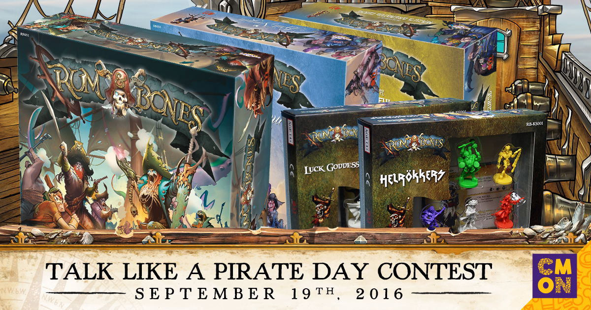 CMON's Talk Like A Pirate Day Contest