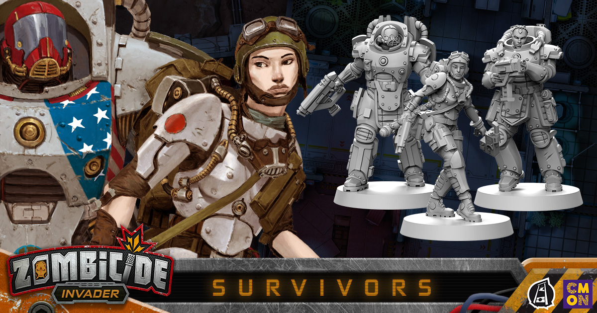 Zombicide: Invader - The Survivors of PK-L7