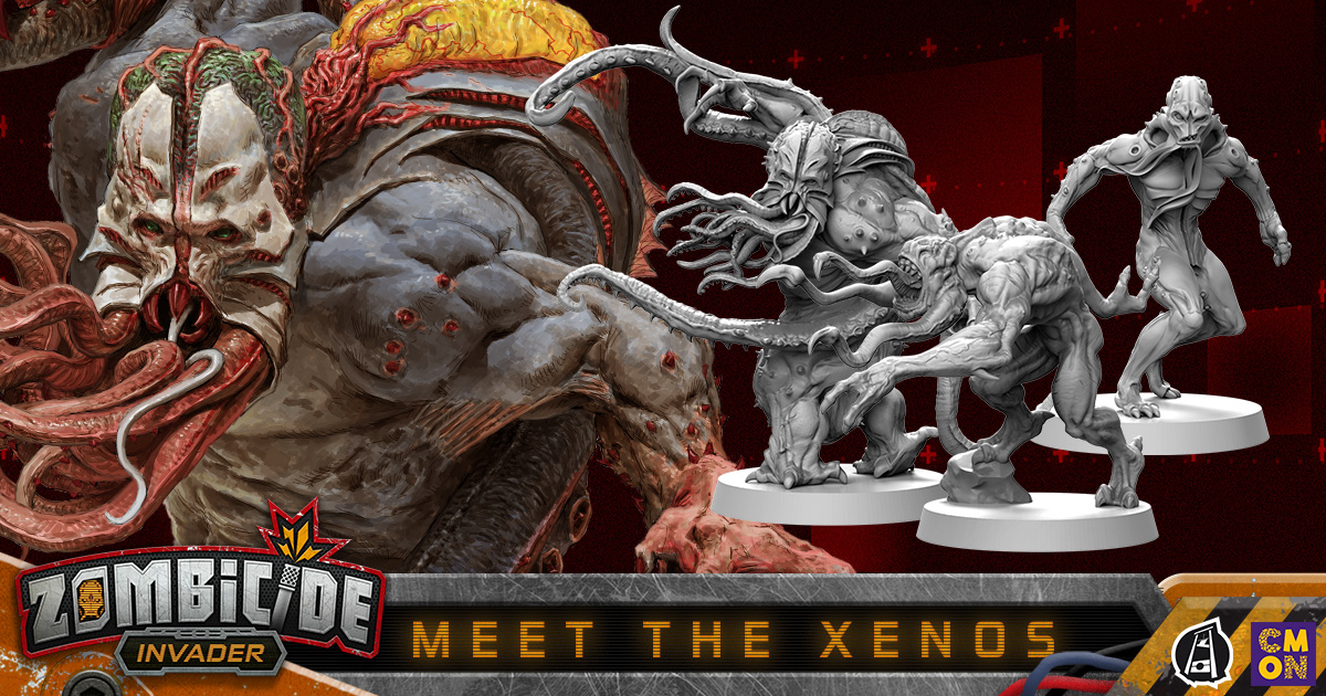 Zombicide: Invader - Meet the Xenos