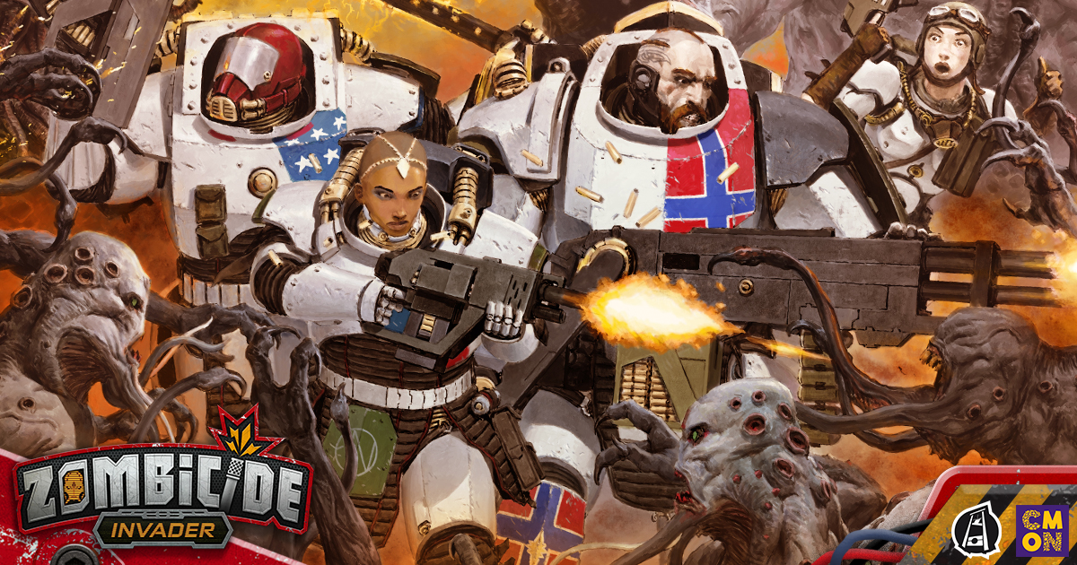 Zombicide: Invader Kickstarter is Live