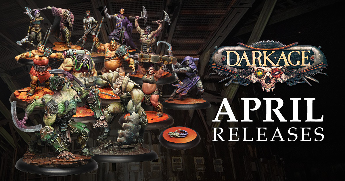 Dark Age Releases for April