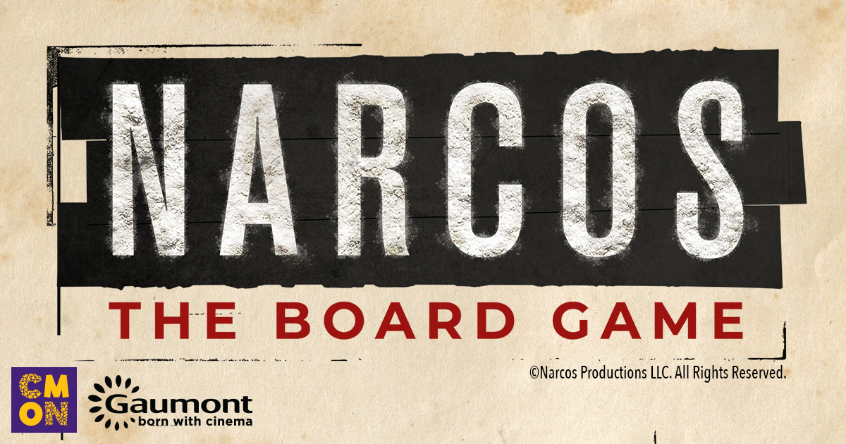 CMON Limited Announces Narcos: The Board Game Based on Netflix Original Series