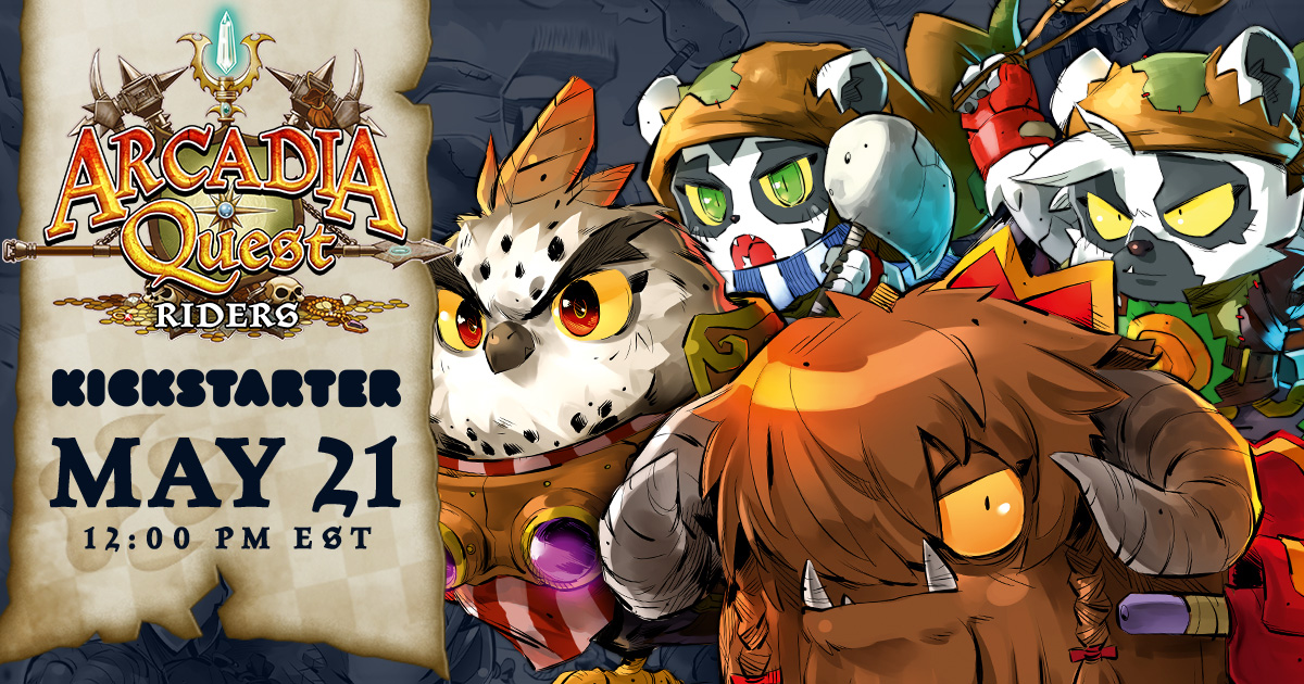Arcadia Quest: Riders - New Friends