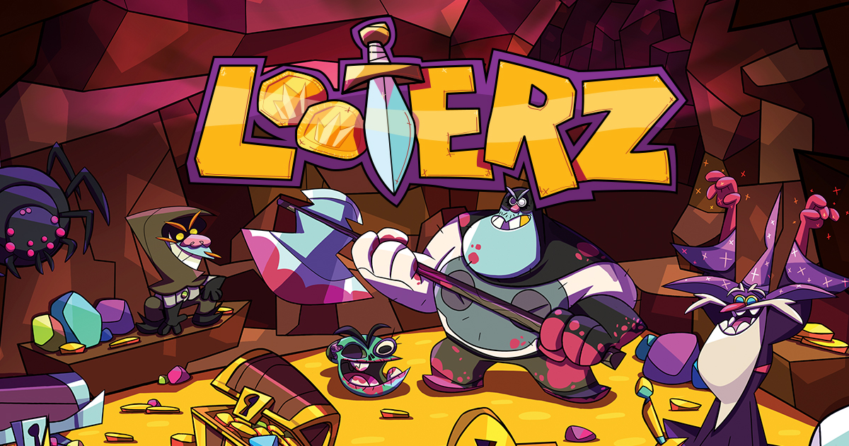 Get ready to loot! The Looterz Trailer has arrived!