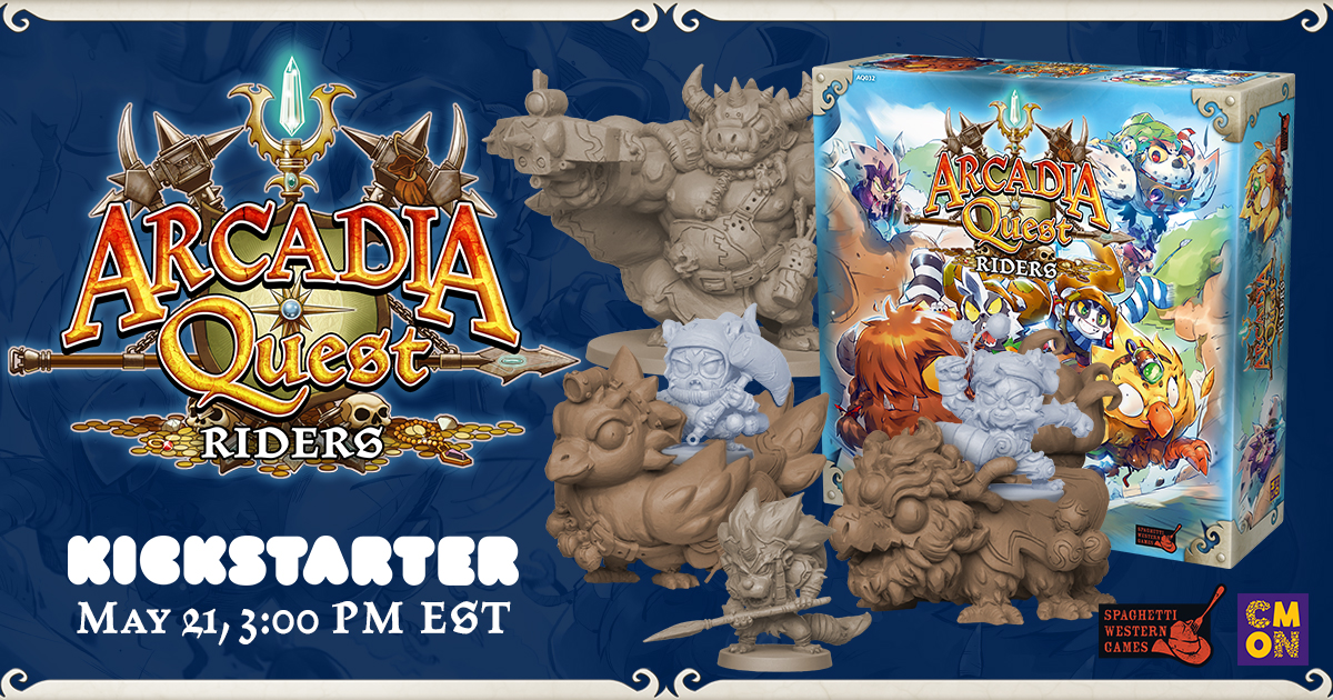 The Arcadia Quest: Riders Kickstarter is Live