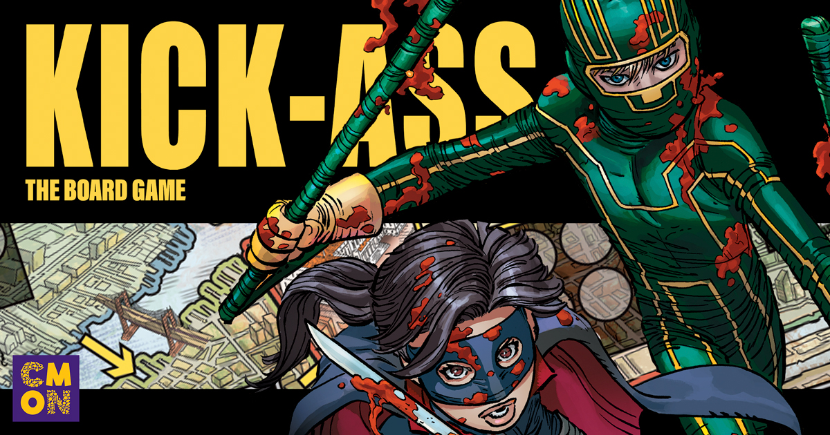 Announcing Kick Ass: The Board Game