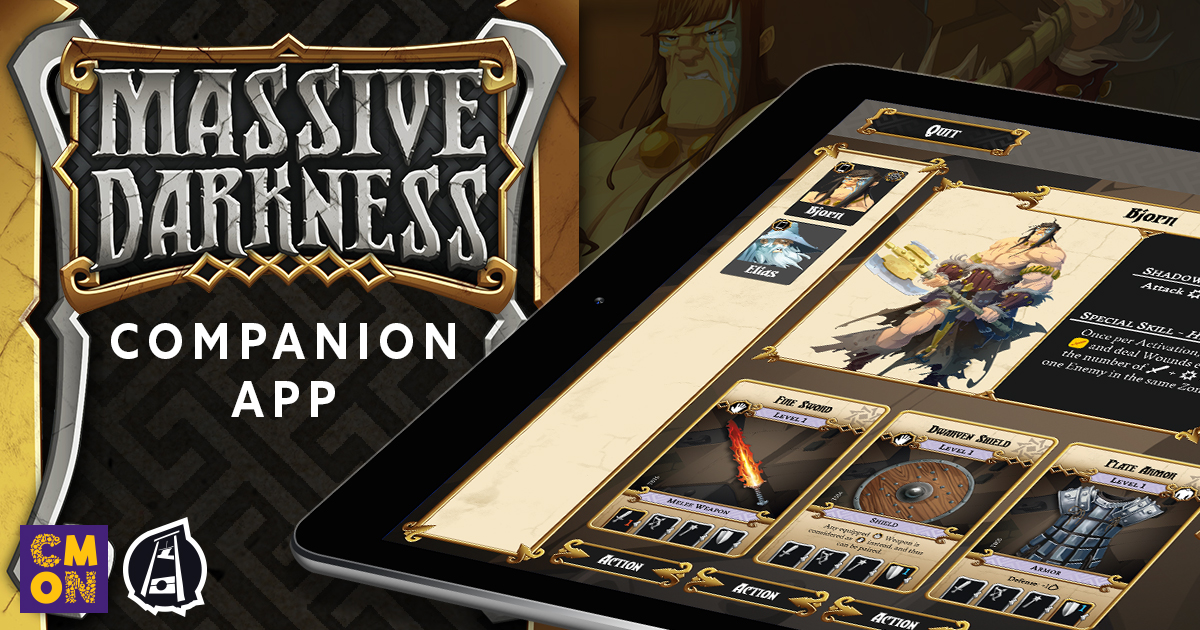 Massive Darkness Companion App