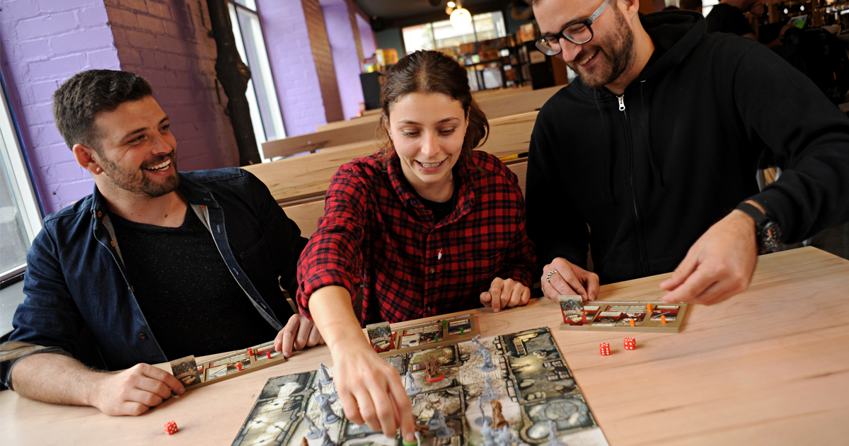 The Rise of the Board Game Cafe