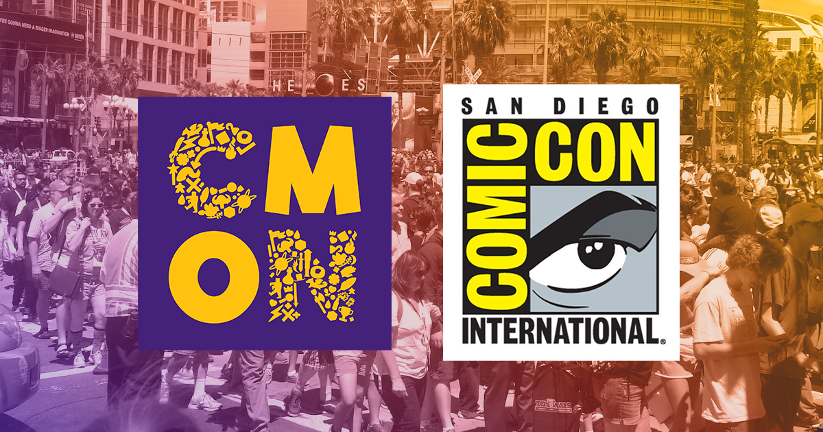 CMON at San Diego Comic-Con