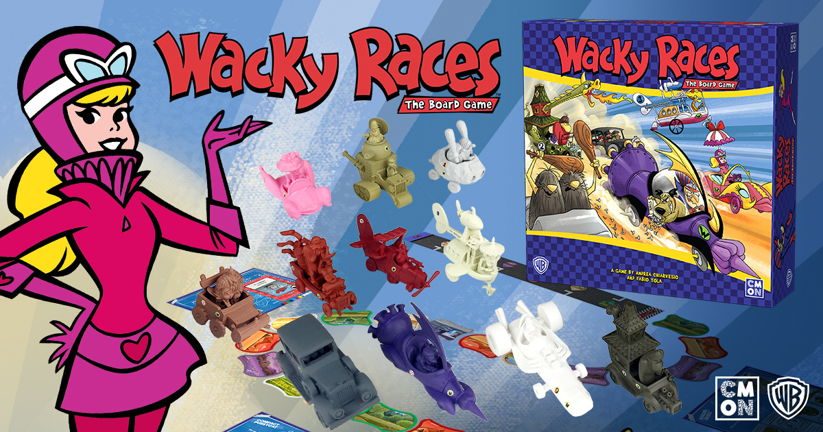 CMON Limited Teams Up with Warner Bros. Consumer Products to Release Wacky Races