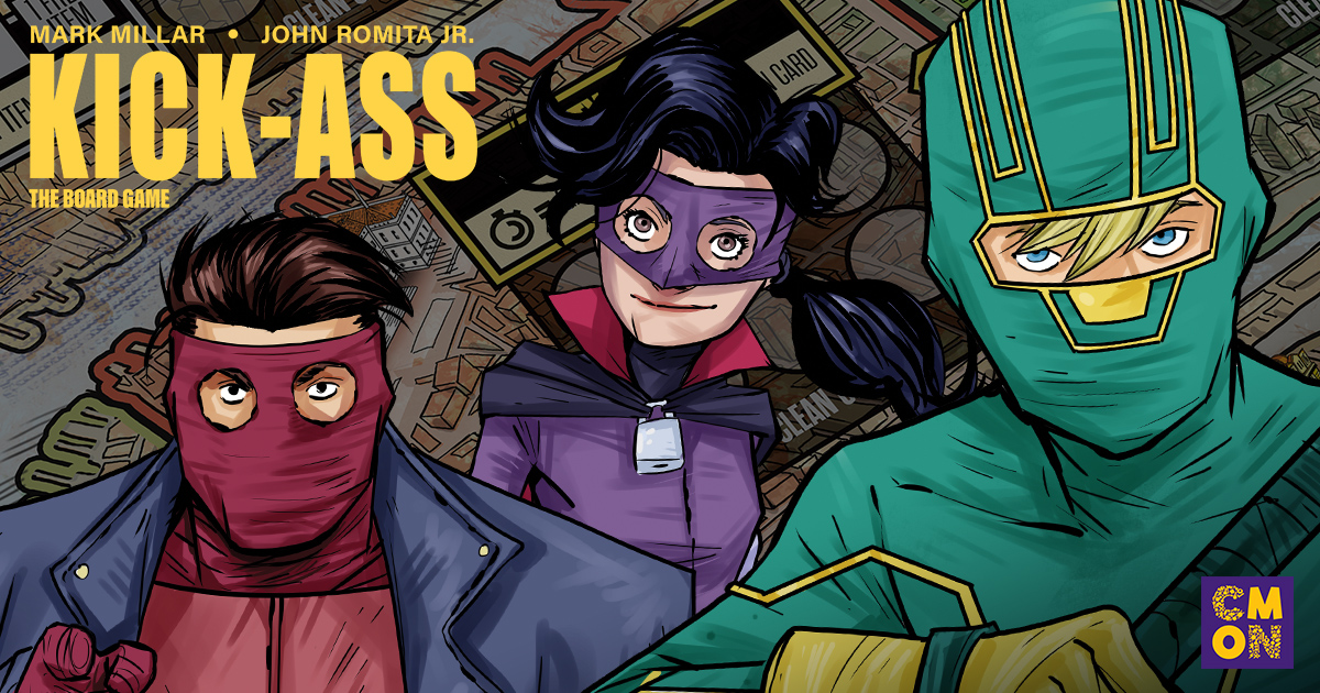 Kick-Ass: The Board Game - Saving Lives and Gaining Followers