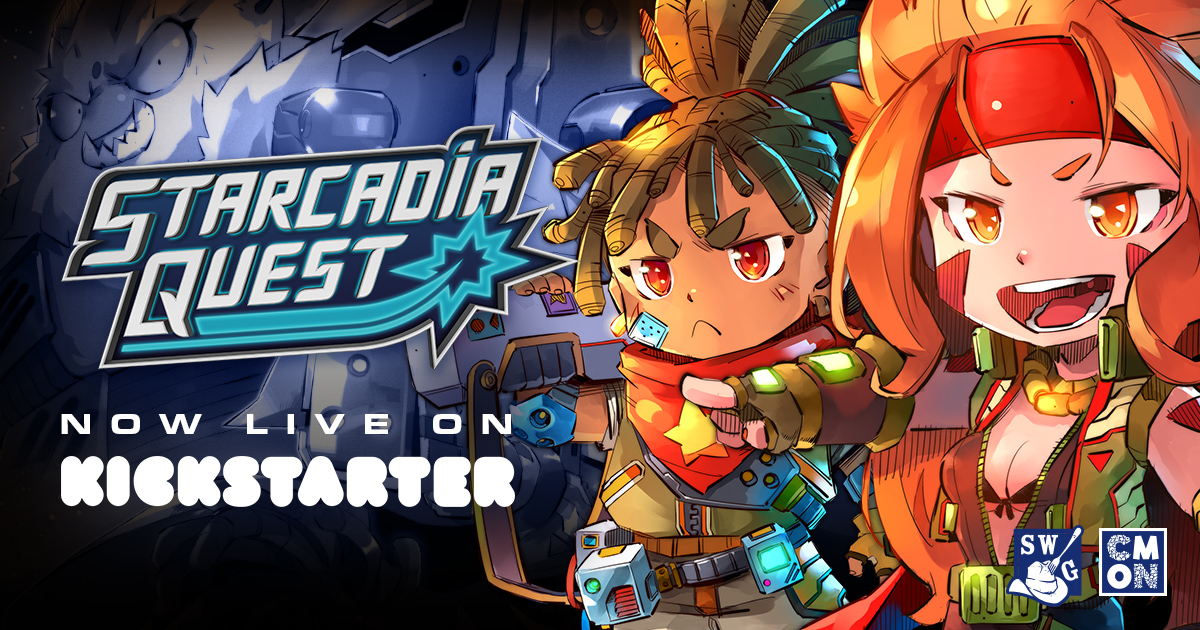 The Starcadia Quest Kickstarter is Live