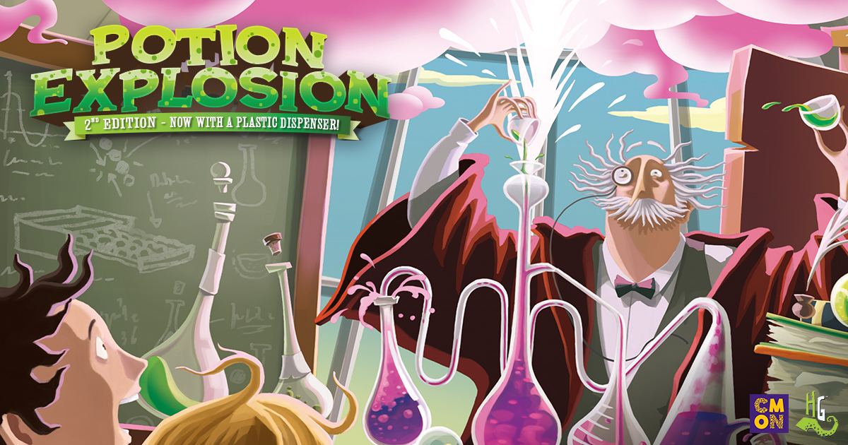 Potion Explosion 2nd Edition: Back to Class