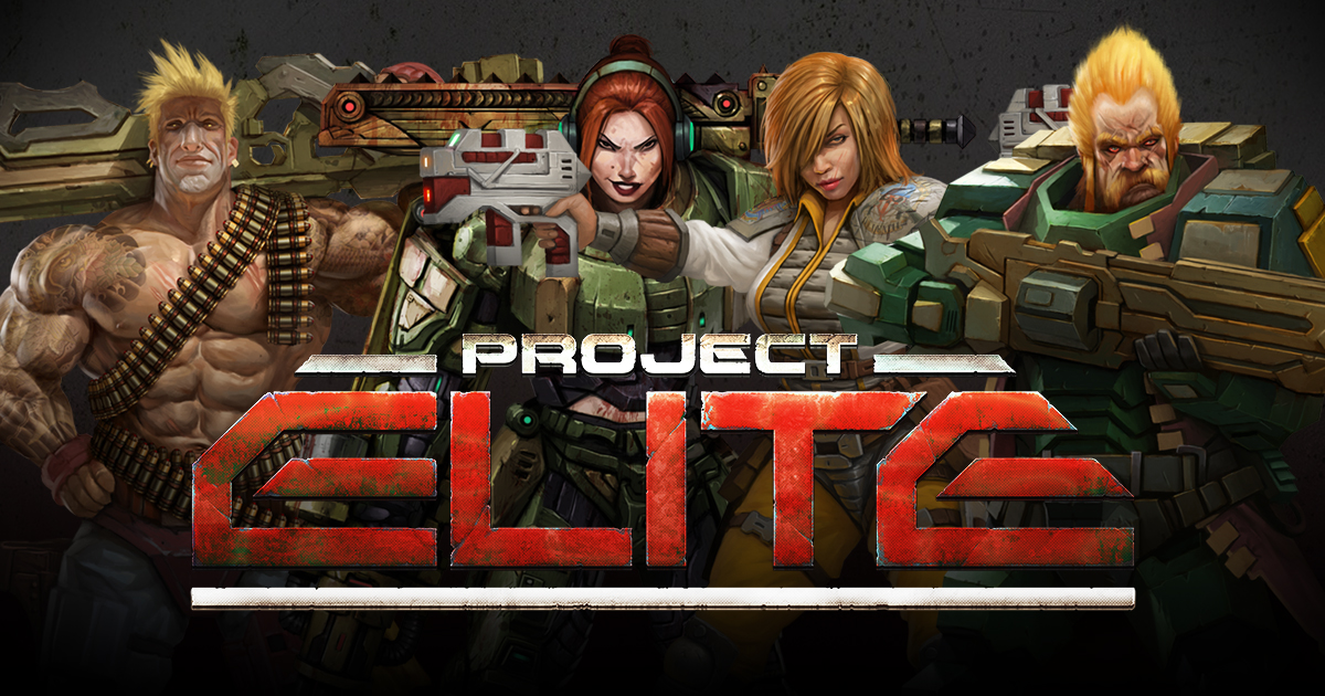 The Heroes of Project: ELITE - Humanity's Last Chance