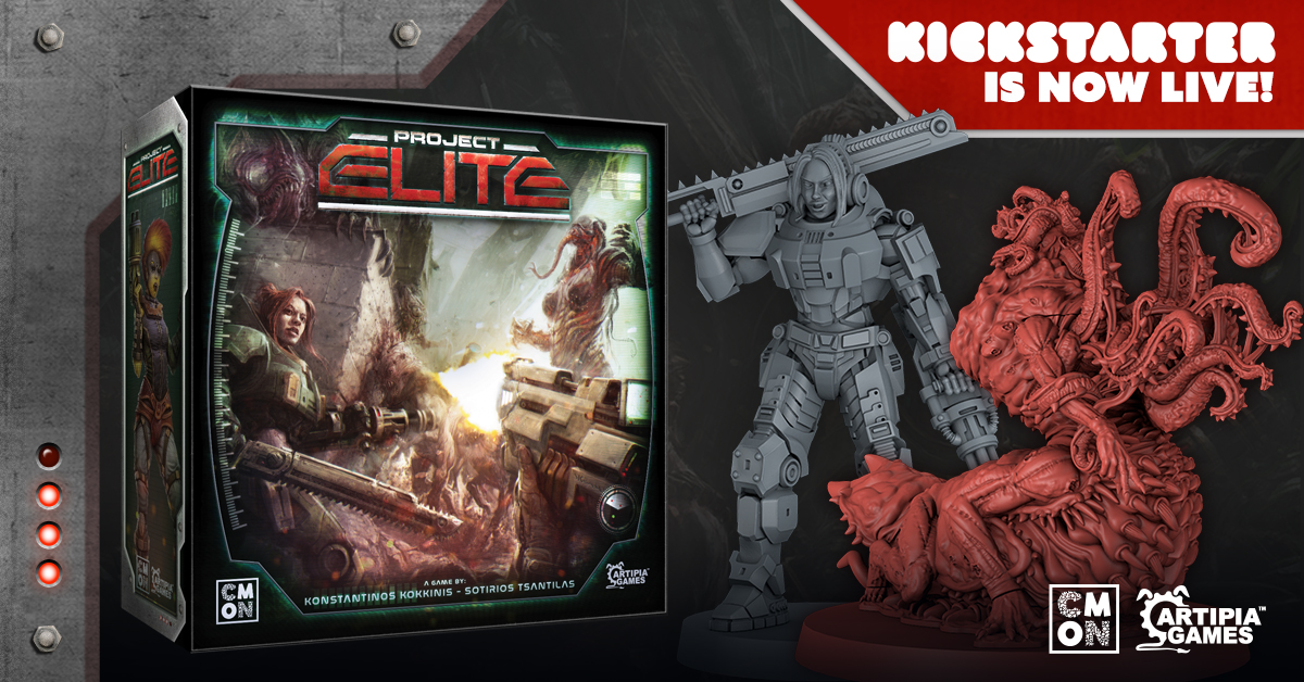The Project: ELITE Kickstarter is Live!