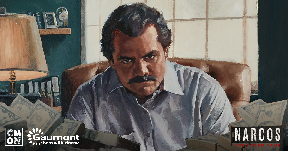 Narcos: The Board Game - The Hunt for El Patrón