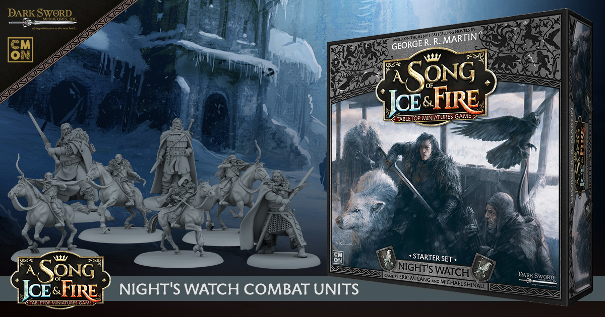 ASOIF: TMG Night's Watch Starter Set - Combat Units