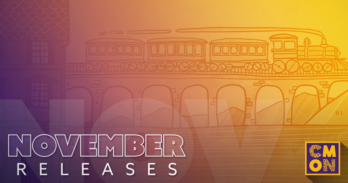 November Releases for CMON