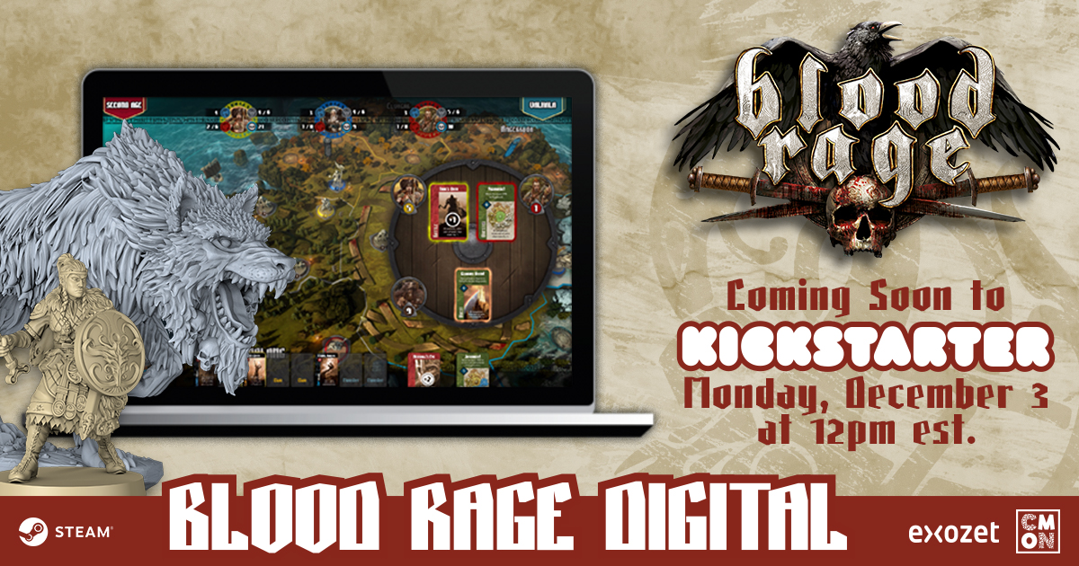 Blood Rage Digital Overview
