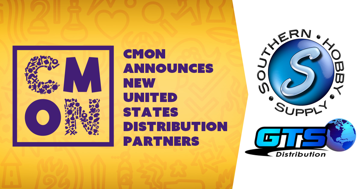 CMON Announces New United States Distribution Partners